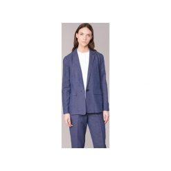 Żakiety / Blezery Armani jeans  FADIOTTA. Niebieskie marynarki i żakiety damskie Armani Jeans, z jeansu. Za 979,30 zł.