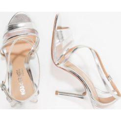 Rzymianki damskie: Head over Heels by Dune MACIEE Sandały na obcasie silver metallic