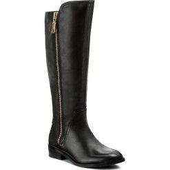 Oficerki ALDO - Mihaela 46875144 97. Czarne buty zimowe damskie ALDO, z materiału, na obcasie. W wyprzedaży za 409,00 zł.