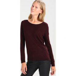 Swetry klasyczne damskie: American Vintage LOBAISLAND Sweter griotte