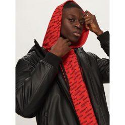 Bluza z kapturem - Czerwony. Czerwone bluzy dziewczęce rozpinane marki Reserved, m, z kapturem. Za 69,99 zł.