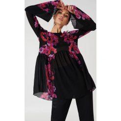 Sukienki hiszpanki: Free People Bieliźniana sukienka Symphony – Black,Multicolor
