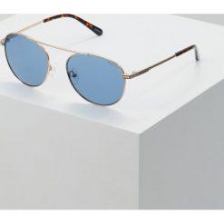 GANT Okulary przeciwsłoneczne gold/blue. Żółte okulary przeciwsłoneczne męskie wayfarery GANT. Za 589,00 zł.