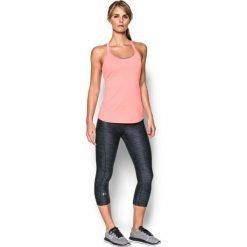 Under Armour Spodnie Hg Ar Pr Capri Blk Anth Met Silver Xs. Szare bryczesy damskie marki Under Armour, xs, z tkaniny, na fitness i siłownię. W wyprzedaży za 139,00 zł.