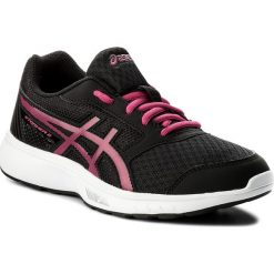 Buty ASICS - Stormer 2 Gs C811N Black/Fuchsia Purple/White 9019. Czarne buty do biegania damskie Asics, z materiału. W wyprzedaży za 139,00 zł.