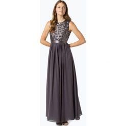 Marie Lund - Damska sukienka wieczorowa, szary. Niebieskie sukienki balowe marki Marie Lund, z szyfonu. Za 449,95 zł.