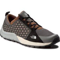Derby męskie: Półbuty THE NORTH FACE - Mountain Sneaker T932ZUYUN Graphite Grey/Tagumi Brown