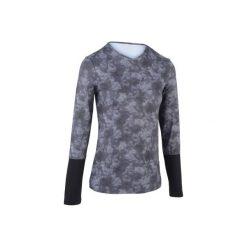 T-shirty damskie: T-SHIRT ESSENTIEL szaro-czarny
