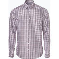 Calvin Klein - Koszula męska łatwa w prasowaniu, czerwony. Pomarańczowe koszule męskie non-iron marki Calvin Klein, l, z bawełny, z okrągłym kołnierzem. Za 299,95 zł.