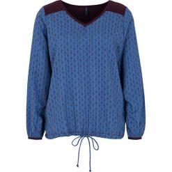 """Bluzki asymetryczne: Koszulka """"Silke"""" w kolorze niebieskim"""