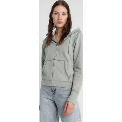 Abercrombie & Fitch LOGO Bluza rozpinana green. Zielone bluzy rozpinane damskie Abercrombie & Fitch, xs, z bawełny. Za 369,00 zł.