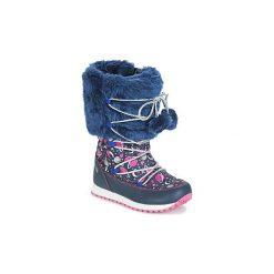 Śniegowce Dziecko Agatha Ruiz de la Prada  APRES-SKI AGATHA. Niebieskie buty zimowe chłopięce Agatha Ruiz de la Prada. Za 207,20 zł.