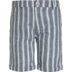 Scotch Shrunk DYED STRIPE  Szorty light blue. Niebieskie spodenki chłopięce marki Scotch Shrunk, z bawełny. Za 249,00 zł.