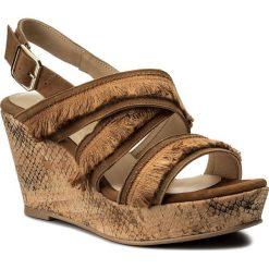 Rzymianki damskie: Sandały BRENDA ZARO – TZ2247 Suede Coconut