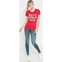Levi's - Jeansy 710. Brązowe jeansy damskie marki Levi's®, z bawełny. W wyprzedaży za 269,90 zł.