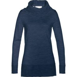 Sweter z szerokim golfem bonprix ciemnoniebieski. Niebieskie golfy damskie bonprix. Za 179,99 zł.