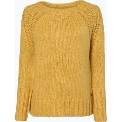 Marc O'Polo - Sweter damski z dodatkiem moheru, żółty. Żółte swetry klasyczne damskie Marc O'Polo, xs, z dzianiny, polo. Za 659,95 zł.