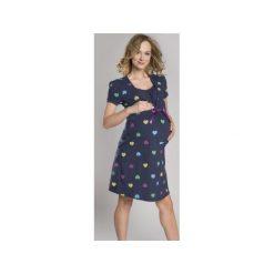 Bielizna ciążowa: Koszula nocna Alla granatowa r. XL