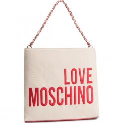 Torebka LOVE MOSCHINO - JC4113PP17LO0107 Naturale. Brązowe torebki klasyczne damskie marki Love Moschino, z materiału. Za 779,00 zł.