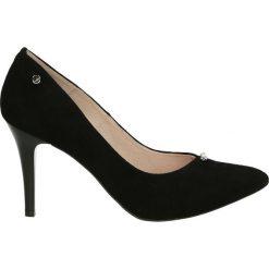 Czółenka - Z7270154 NERO. Czarne buty ślubne damskie Venezia, ze skóry. Za 329,00 zł.