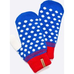 Femi Pleasure - Rękawiczki. Czerwone rękawiczki damskie Femi Stories, z dzianiny. W wyprzedaży za 59,90 zł.