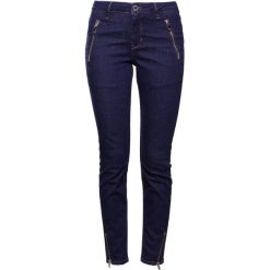 Boyfriendy damskie: 2nd Day SALLY CROPPED ZIP Jeansy Slim Fit indigo