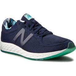 Buty NEW BALANCE - WLZANTDA Granatowy. Niebieskie buty do biegania damskie marki New Balance, z materiału. W wyprzedaży za 329,00 zł.