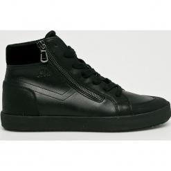 Geox - Buty. Czarne buty sportowe damskie Geox, z gumy. W wyprzedaży za 329,90 zł.