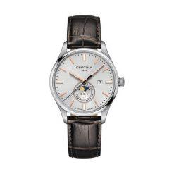 PROMOCJA ZEGAREK CERTINA DS 8 C033.457.16.031.00. Szare zegarki męskie CERTINA, pozłacane. W wyprzedaży za 1707,20 zł.