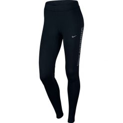 Nike Legginsy Nike W NK Power Essential Running Tight czarne r. S (829130 010). Czarne legginsy sportowe damskie marki Nike, xs, z bawełny. Za 153,99 zł.
