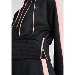 Bluzy rozpinane damskie: Puma EN POINTE SAVANNAH Bluza z kapturem black