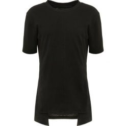Koszulki polo: D.GNAK POINTED FRONT PANEL Tshirt basic black