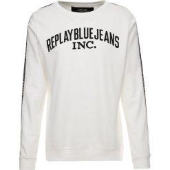 Replay Bluza off white. Białe bluzy męskie Replay, m, z bawełny. Za 409,00 zł.
