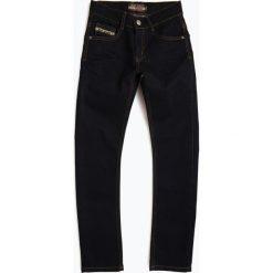 Blue Effect - Jeansy chłopięce slim fit, niebieski. Niebieskie chinosy chłopięce Blue Effect, z jeansu. Za 199,95 zł.
