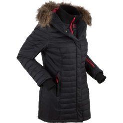 Długa kurtka outdoorowa pikowana bonprix czarny. Czarne bomberki damskie bonprix, s. Za 299,99 zł.