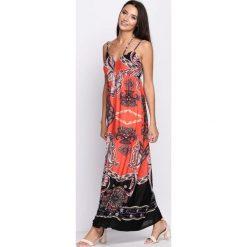Sukienki: Koralowa Sukienka Closer Look