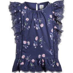 GAP GIRLS Bluzka dutch blue. Niebieskie t-shirty chłopięce GAP, z bawełny. Za 139,00 zł.
