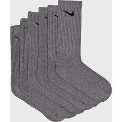 Nike - Skarpetki (6-pack). Szare skarpetki męskie marki Nike, z bawełny. Za 79,90 zł.