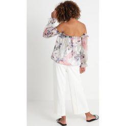 Vince Camuto DIFFUSED BLOOM PEASANT BLOUSE Bluzka new ivory. Białe bluzki damskie Vince Camuto, xl, z materiału. Za 509,00 zł.