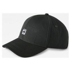G-Star Raw - Czapka. Czarne czapki z daszkiem męskie marki G-Star RAW, z bawełny, retro. W wyprzedaży za 139,90 zł.