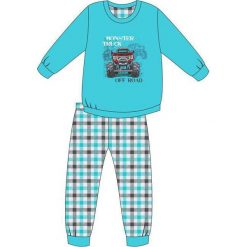 Odzież chłopięca: Piżama Kids Boy 593/82 Off Road turkusowa r. 128