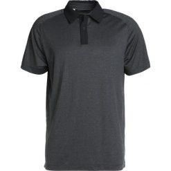 Under Armour THREADBORNE POLO Koszulka sportowa black full heather. Czarne koszulki sportowe męskie Under Armour, m, z elastanu. Za 299,00 zł.