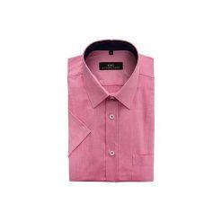 KOSZULA 15-03-16-K ARTURO. Brązowe koszule męskie marki QUECHUA, m, z elastanu, z krótkim rękawem. Za 169,00 zł.