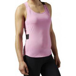 Bluzki asymetryczne: Reebok Koszulka damska treningowa  Top ONE Series Speedwick W różowa r. M (AJ0721)
