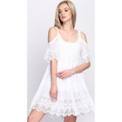 Sukienki: Biała Sukienka Promise This