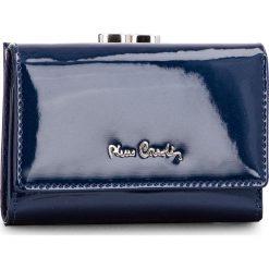 Mały Portfel Damski PIERRE CARDIN - 05 LINE 117  Niebieski. Niebieskie portfele damskie Pierre Cardin, z lakierowanej skóry. Za 119,00 zł.