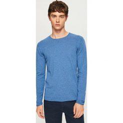 Lekki sweter - Niebieski. Niebieskie swetry klasyczne męskie Reserved, l. Za 69,99 zł.