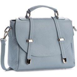 Torebka CREOLE - K10386 Błękitny. Niebieskie torebki klasyczne damskie Creole, ze skóry. W wyprzedaży za 179,00 zł.