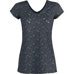 Bluzki asymetryczne: Sublevel Stars Koszulka damska granatowy