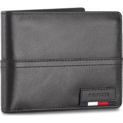 Portfele męskie: Duży Portfel Męski TOMMY HILFIGER – Branded Leather Cc Flap Coin Pocket AM0AM02932 002